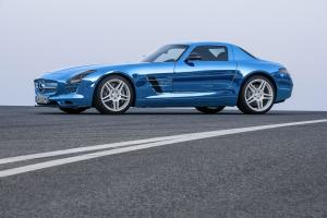 Mercedes-Benz SLS AMG Coupe Electric Drive 2013 года