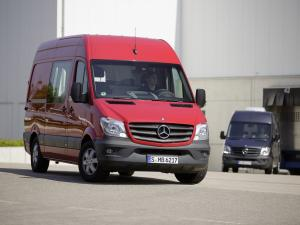 Mercedes-Benz Sprinter LWB High Roof Van 2013 года