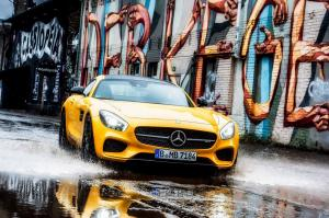 Mercedes-AMG GT S in Berlin 2014 года