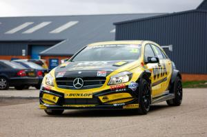Mercedes-Benz A-Class BTCC by WIX Racing 2014 года