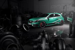 2014 Mercedes-Benz A45 AMG by GAD Motors
