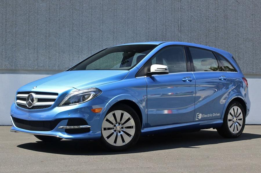 Mercedes-Benz B-Class Electric Drive (US) '2014