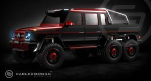Mercedes-Benz B63S 700 6x6 by Brabus and Carlex Design 2014 года