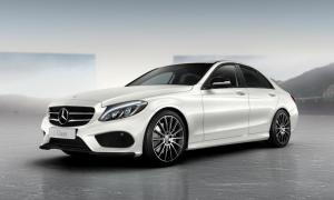 Mercedes-Benz C-Class Night Package 2014 года