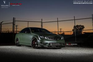2014 Mercedes-Benz C63 AMG Coupe by Skyline Speed Tuning and Vellano Wheels