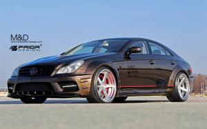 Mercedes-Benz CLS-Class Widebody Black Edition by Prior Design and M&D 2014 года