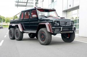 Mercedes-Benz G63 AMG 6x6 Cherry Red by Brabus 2014 года