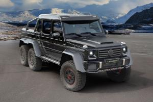 Mercedes-Benz G63 AMG 6x6 by Mansory 2014 года