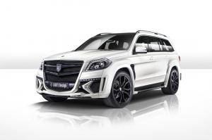 Mercedes-Benz GL-Class Black Crystal White by Larte Design