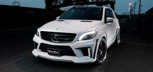 2014 Mercedes-Benz M-Class Black Bison by Wald
