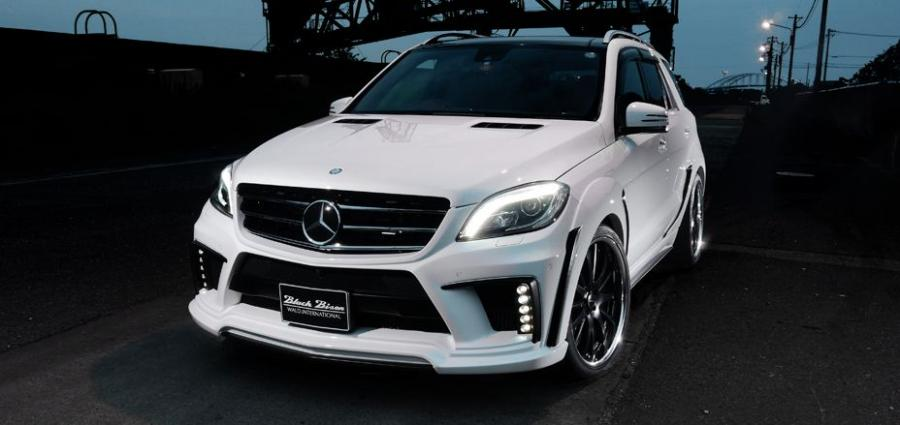 Mercedes-Benz M-Class Black Bison by Wald