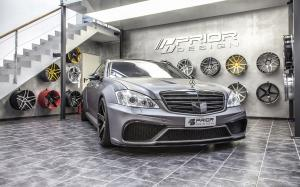 Mercedes-Benz S-Class Black Edition V3 Widebody Aero-Kit by Prior-Design 2014 года