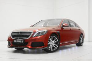 2014 Mercedes-Benz S-Class Red Carbon B50 for Santa by Brabus