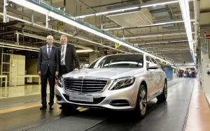 Mercedes-Benz S-Class Start of Production 2014 года