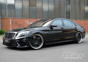 2014 Mercedes-Benz S63 AMG Old Fashioned Discs by MEC Design