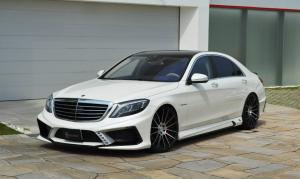 Mercedes-Benz S63 AMG by VITT Squalo 2014 года