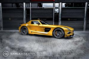 Mercedes-Benz SLS AMG Black Series by Carlex Design 2014 года