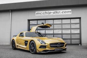 Mercedes-Benz SLS AMG Black Series by McChip-DKR 2014 года
