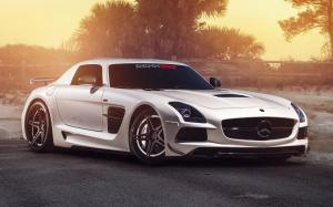 Mercedes-Benz SLS AMG Black Series by RENNtech 2014 года
