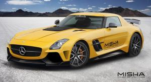Mercedes-Benz SLS AMG Coupe by Misha Design 2014 года