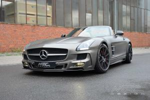 Mercedes-Benz SLS AMG Roadster Monza Grey by MEC Design 2014 года