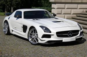 Mercedes-Benz SLS AMG Version 2 by SGA Aerodynamics 2014 года