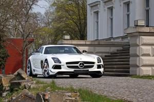 Mercedes-Benz SLS AMG by SGA Aerodynamics 2014 года