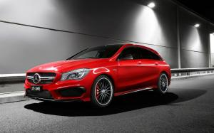 Mercedes-AMG CLA45 Shooting Brake 2015 года