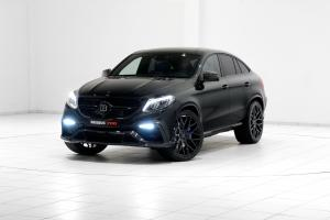 Mercedes-AMG GLE63 700 4Matic Coupe by Brabus 2015 года
