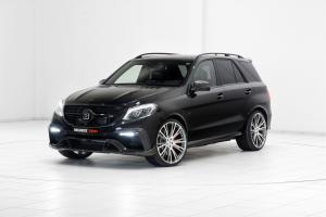 Mercedes-AMG GLE63 700 4Matic by Brabus 2015 года