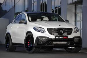 Mercedes-AMG GLE63 850 4Matic Coupe by Brabus 2015 года