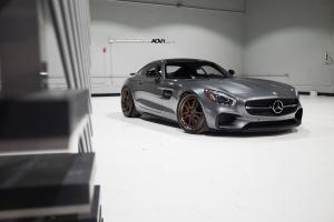 2015 Mercedes-AMG GT S Edition 1 on ADV.1 Wheels (ADV52TSCS)