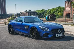 Mercedes-AMG GT S PD800GT Widebody Aerodynamic-Kit by Prior Design 2015 года