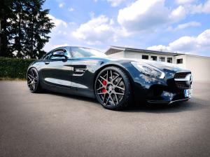 2015 Mercedes-AMG GT S on LOMA Wheels