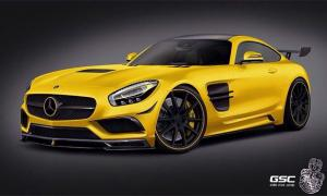 Mercedes-AMG GT by German Special Customs 2015 года