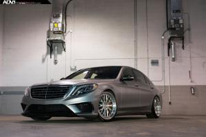 2015 Mercedes-AMG S63 on ADV.1 Wheels (ADV10.0)