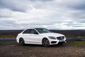 Mercedes-Benz C250 d 4Matic AMG Line 2015 года (UK)