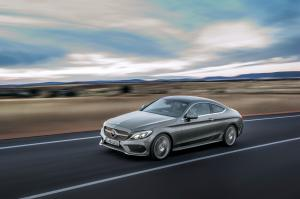 Mercedes-Benz C300 Coupe AMG Line 2015 года