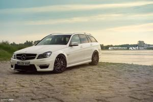 2015 Mercedes-Benz C63 AMG Estate by ATT-Tec on ADV.1 Wheels (ADV52MV2CS)