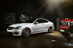 2015 Mercedes-Benz C63 AMG Renntech10.2 by REENtech on ADV.1 Wheels (Super Light MV1 SL)