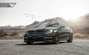 2015 Mercedes-Benz C63 AMG by Vorsteiner