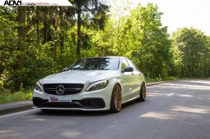 2015 Mercedes-Benz C63 S AMG Sedan by ATT-Tec and KW on ADV.1 Wheels (ADV5.2MV2CS)