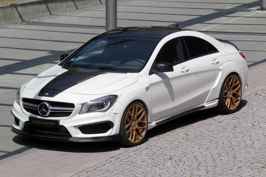 Mercedes-Benz CLA SAPHIR LM45-410 Turbo by Loewenstein