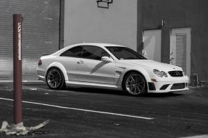 Mercedes-Benz CLK63 AMG Black Series on ADV.1 Wheels (ADV10TSSL) 2015 года