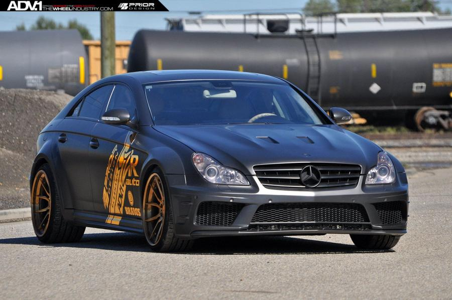 2015 Mercedes-Benz CLS55 AMG by Prior Design on ADV.1 Wheels (ADV5.0 Track Spec CS)