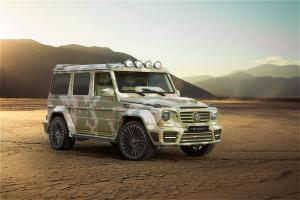 2015 Mercedes-Benz G63 AMG Sahara Edition by Mansory
