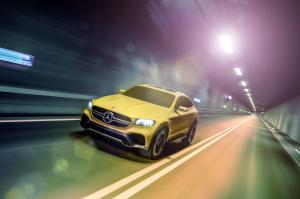 Mercedes-Benz GLC Coupe Concept 2015 года
