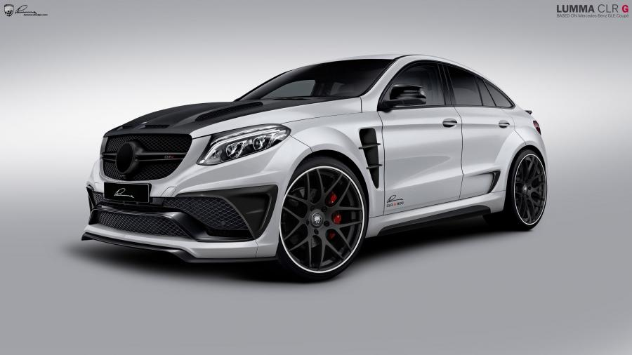 Mercedes-Benz GLE Coupe CLR G 800 by Lumma Design