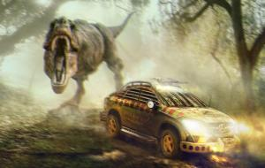 2015 Mercedes-Benz GLE450 AMG Coupe Jurassic Park Movie