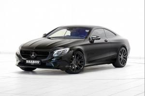 Mercedes-Benz S500 Coupe 4Matic by Brabus 2015 года